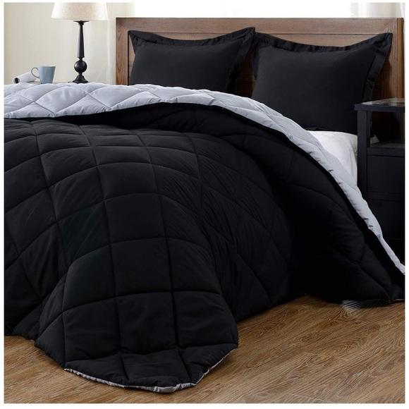 3 PC Set-Down Alternative Reversible Comforter